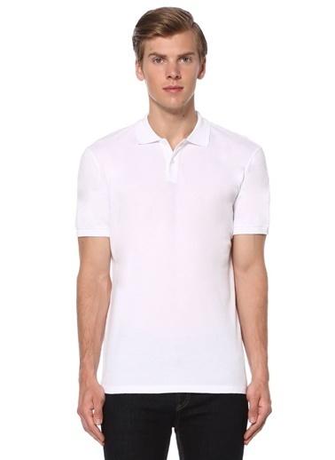 Sedwick Polo Yaka Tişört Beyaz